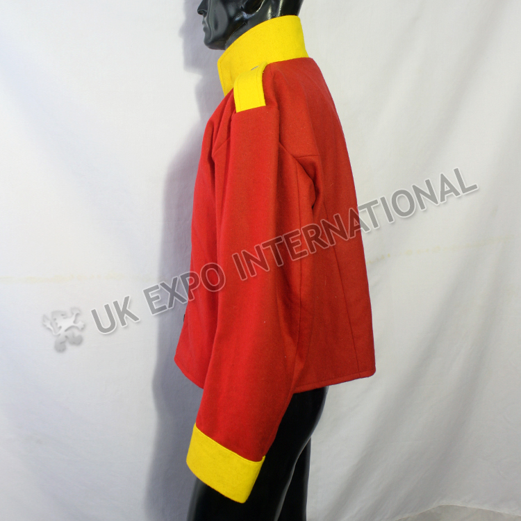 12th regiment Red ColoCoat with Yellow Collar Cuff