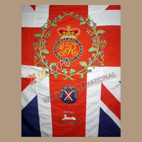 Large Flags Double/Single Side Embroidery