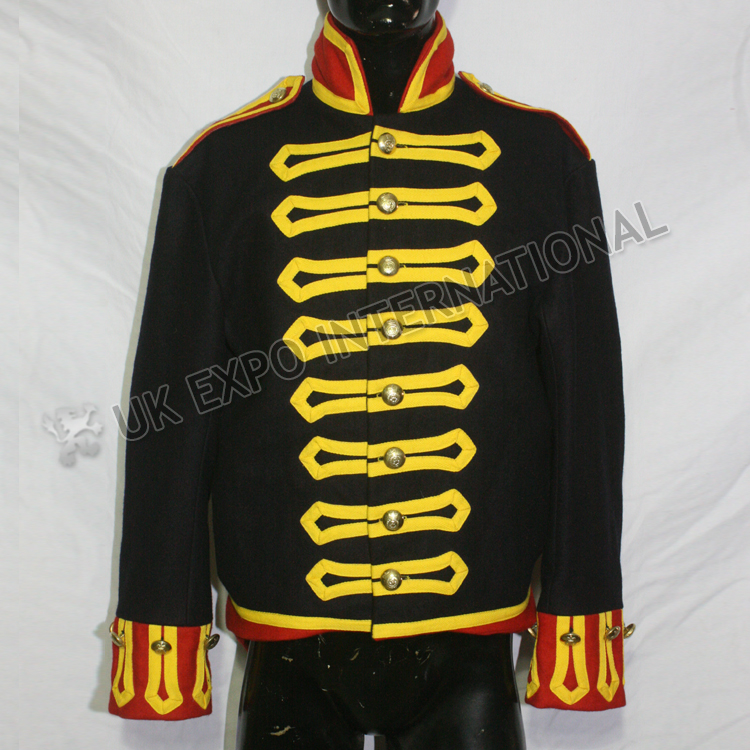 1812-1815 NCOs Royal Reg of Artillery waterloo Yellow Braided Jacket