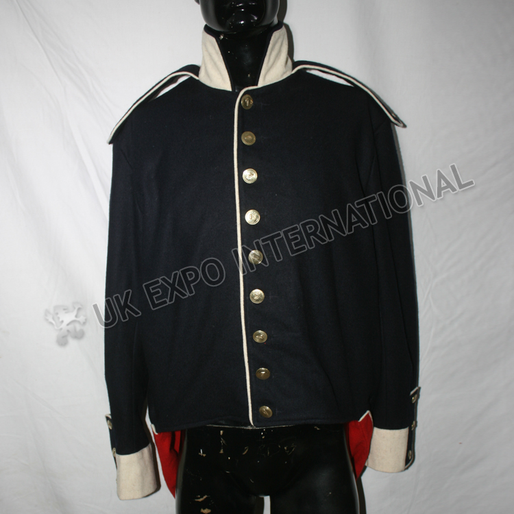 7th regiment of foot Dark Blue Coat with white collar