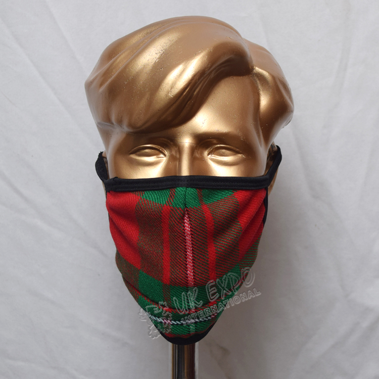 MacGregor Tartan Scottish Style Mask