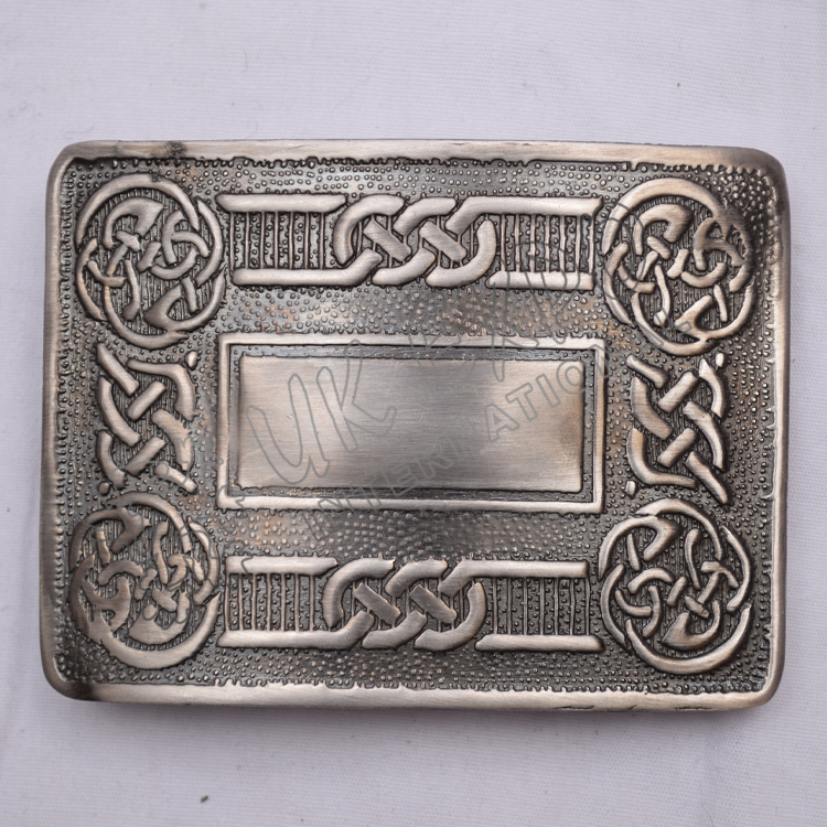 Antique Celtic Scottish Buckle