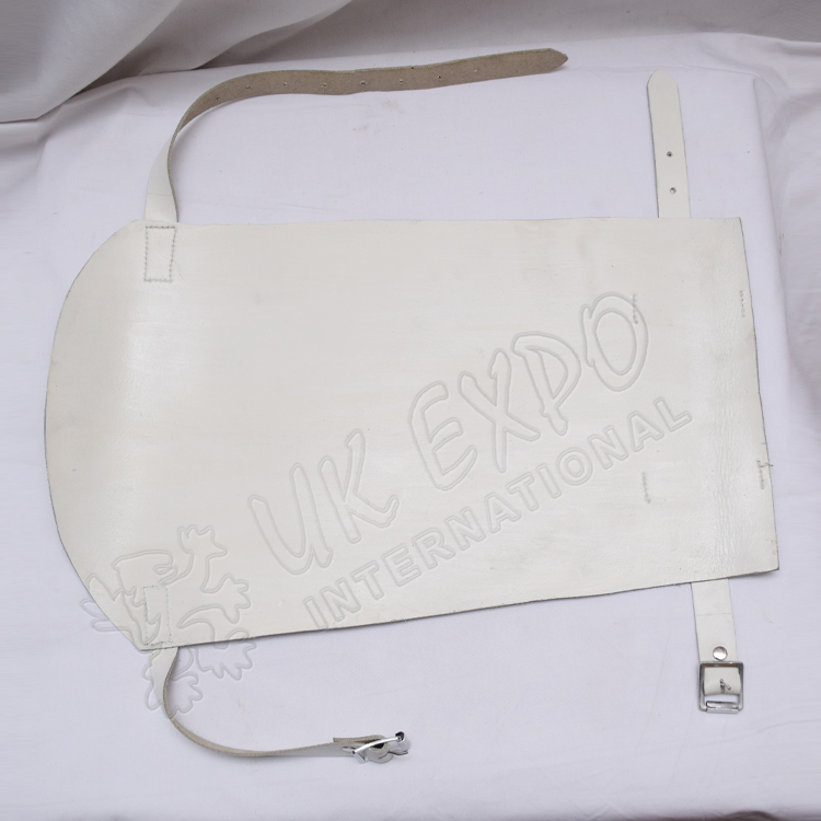 Base Drum White Leather Protector for Drummer With New Features