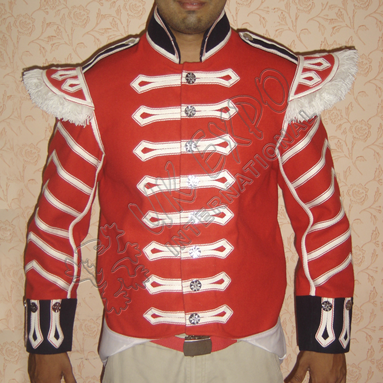 Black watch infantry Jacket with Strips on Arms