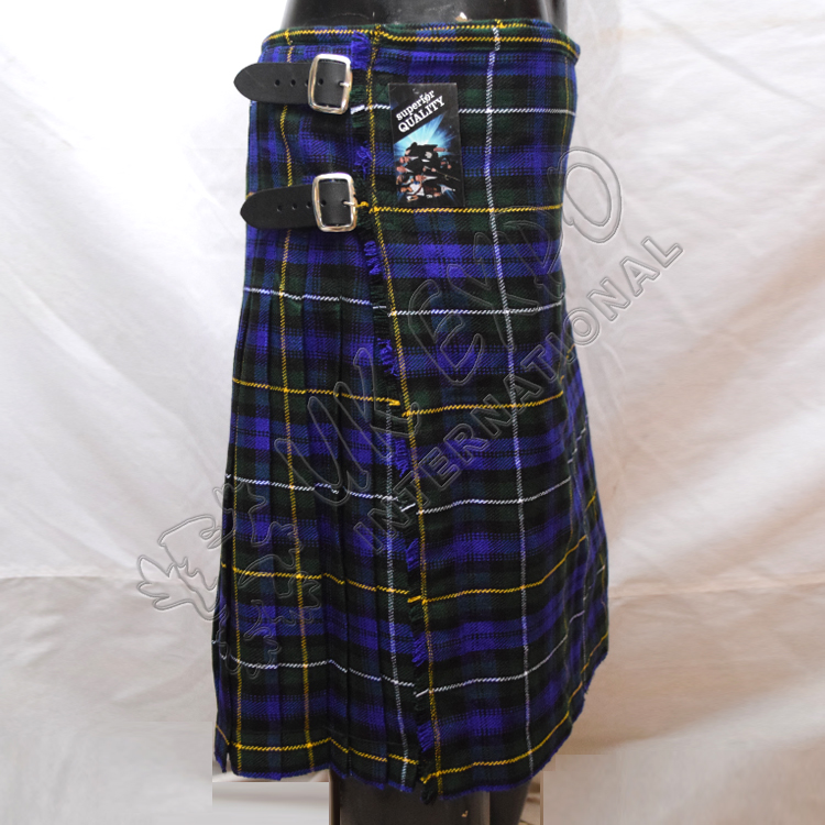 Blue color Tartan Kilt