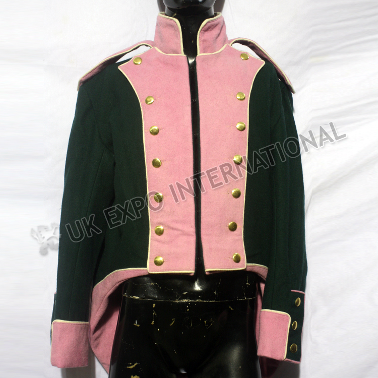 De riguer 1806 uniform jacket light cavalry regiment officer   1807-1814