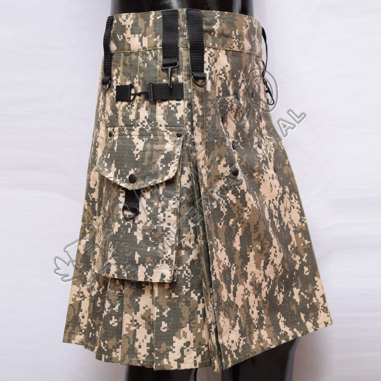 Digital Camouflage Utility Kilts