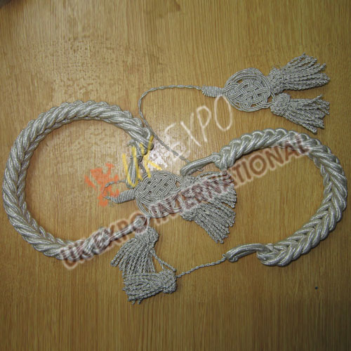 French Coat Cord for bust Silver Bullion Material