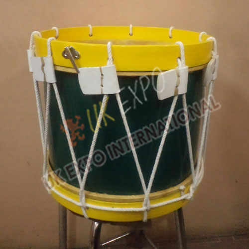 Green and Yellow Drum