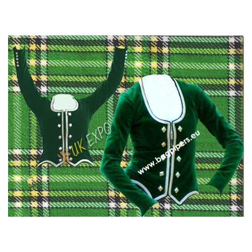Ladies Highland Dance Jacket Velvet