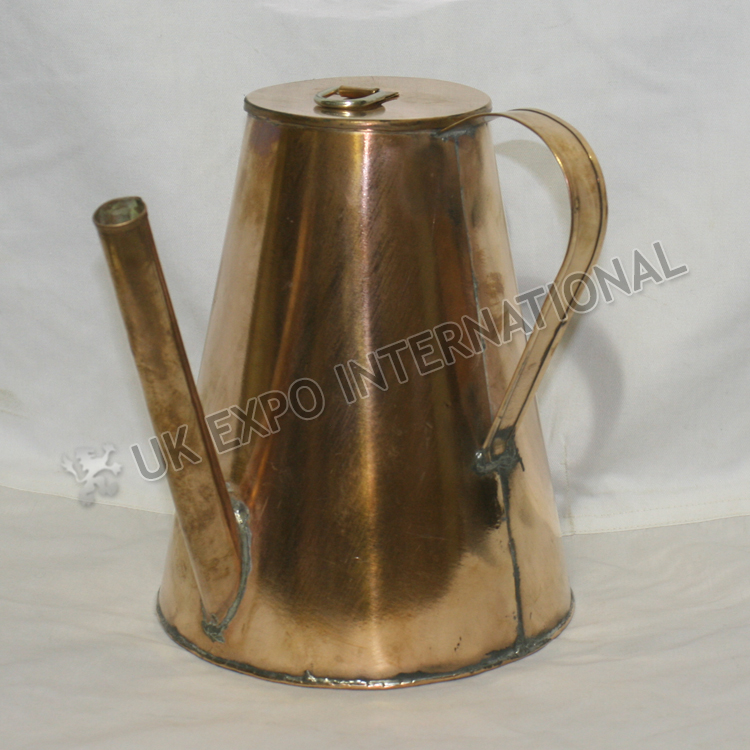 Long Spout Tea Pot made in Copper