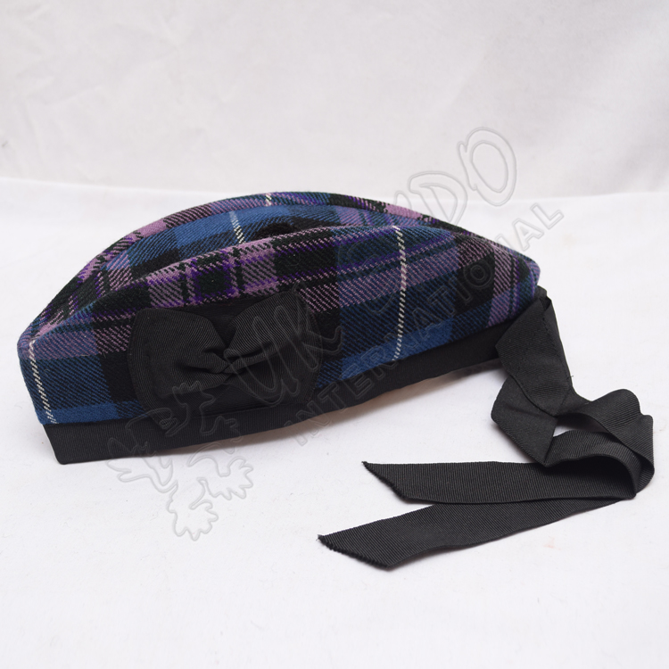 Pride of Scotland Tartan Glegnarry Hat