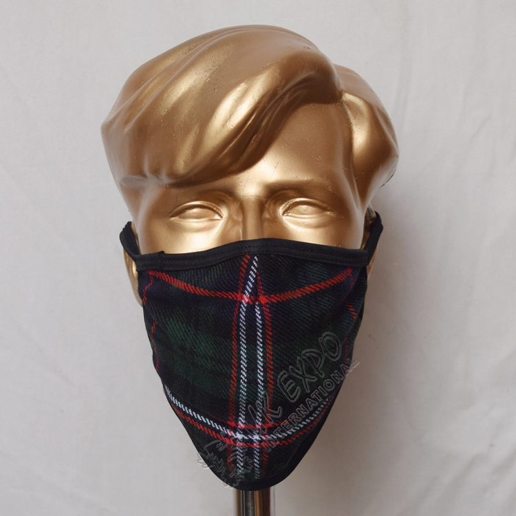 Scottish National Tartan Scottish Style Mask