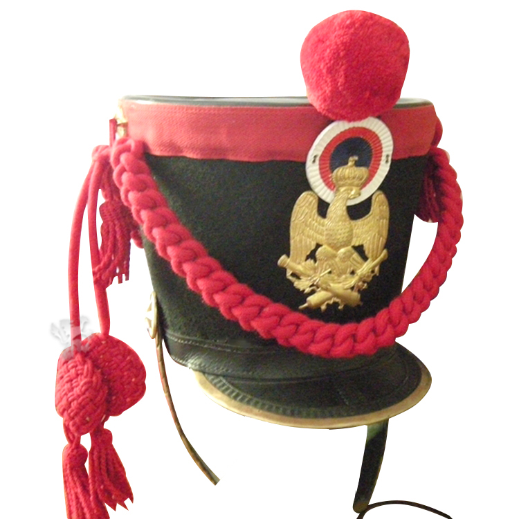 Shako of foot artillery of the Imperial Guard in 1808