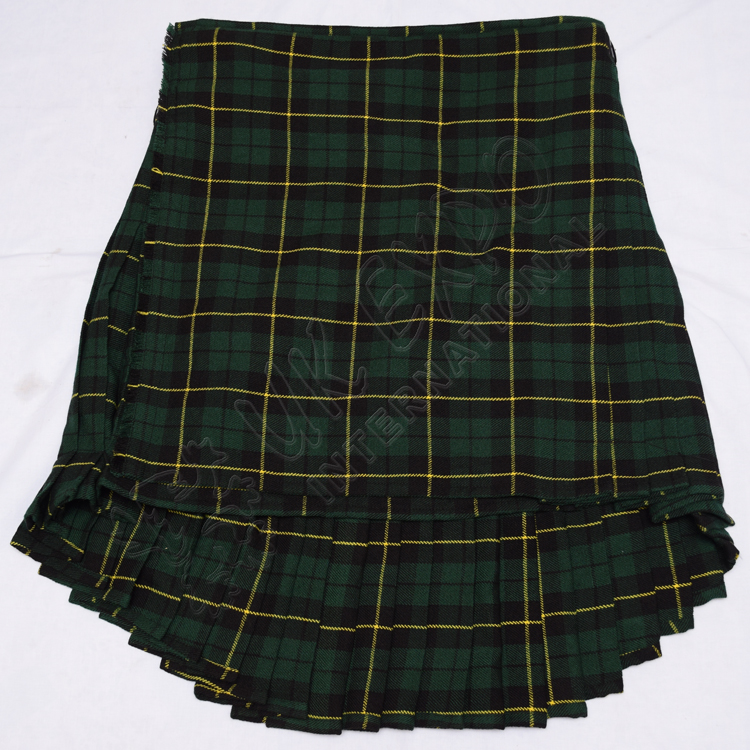 special 8 Yard Wallace Hunting Tartan Kilts For wheel chair person