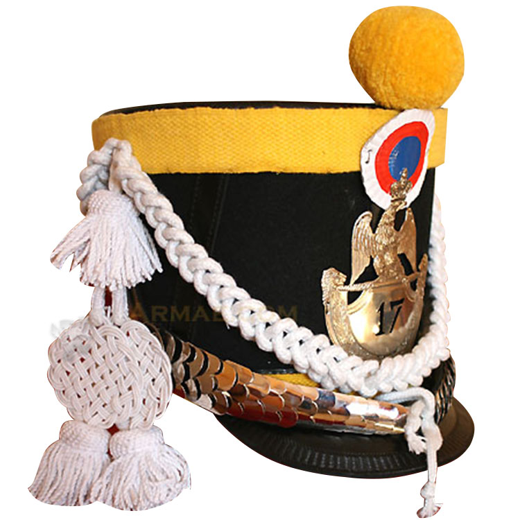 Voltigeur shako 17th light infantry 1812
