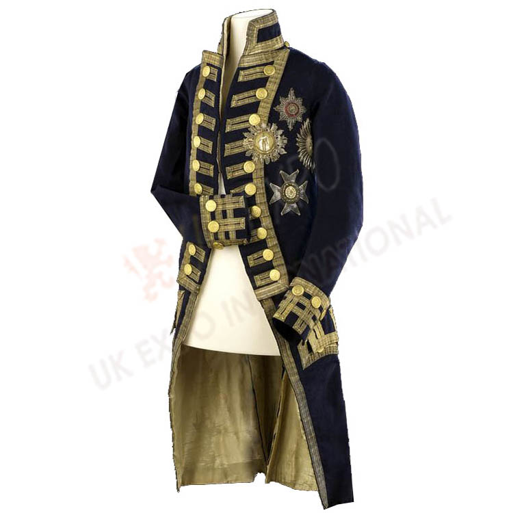 Wax effigy of Lord Nelson Jacket