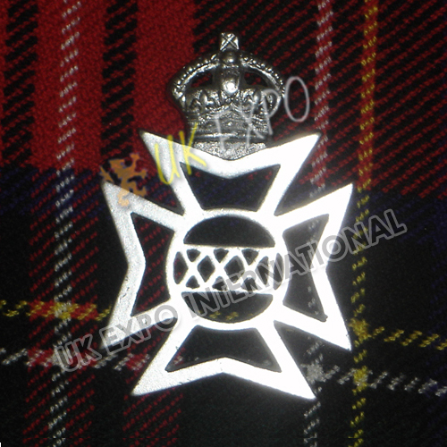 XXX German Metal Badge