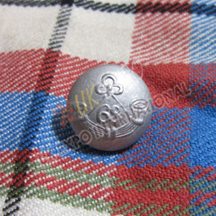 68th Bugle Button Dhull Finish 2 Part Button