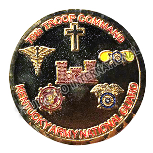 75th Troops Command Coin