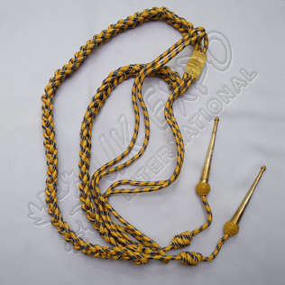 Aiguillette Golden and Blue Color