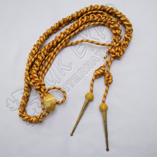 Aiguillette Golden and Maroon Color
