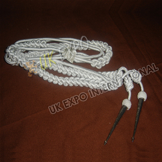 Aiguillette White Silk Color