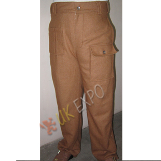 Airborne 1937 pattern WWII trousers Khaki color