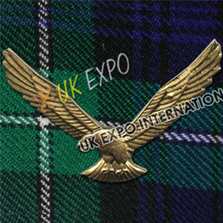 Americal Eagle Metal Badge