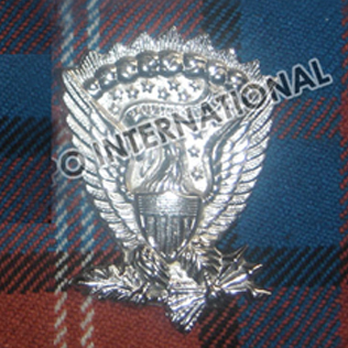 Americal Metal Badge