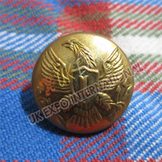 American Eagle Brass Button