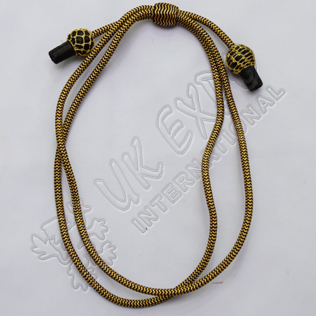 Black and Golden hat Cord