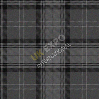 Black charcoal Gray Tartan Hamilton Grey No 20