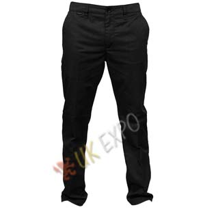 Black Color Cotton Gents pant