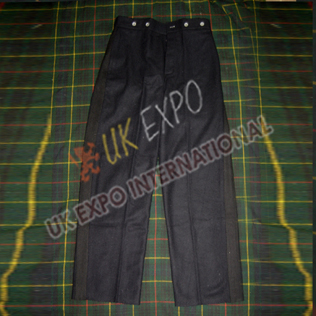 Black Color Wool Trouser