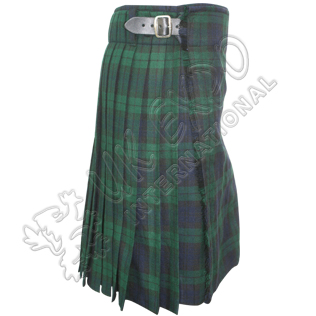Black Watch Tartan 5 yard Kilts