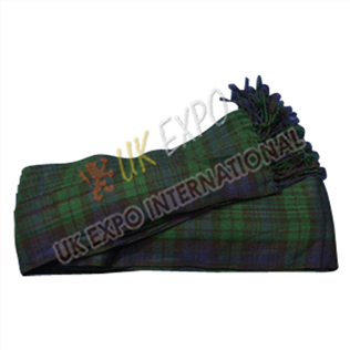 Black Watch Tartan Drummer Plaid