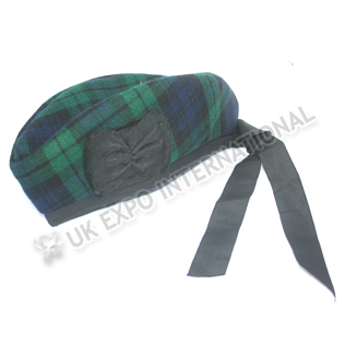 Black watch Tartan Glengary Hat