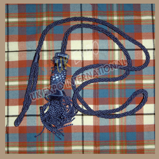 Blue Color Silk Cord