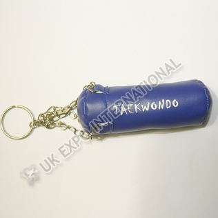 Blue Color TAEKWONDO Key Chain