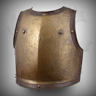Brass Medieval Breast plate