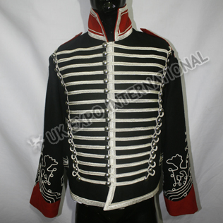 British Vintage Hussar military drummer jacket