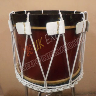 Brown and black Color Drum