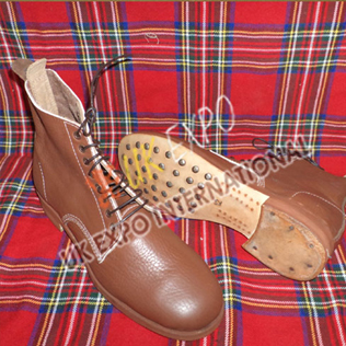 Brown Color Long Shoes