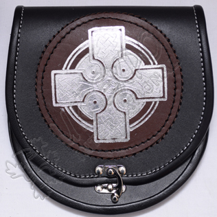 Brown Leather With Celtic Embossed