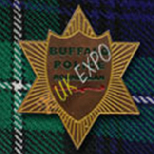 Buffalo Police Metal Badge