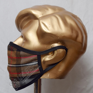 Burberry Check Corporate Tartan Scottish Style Mask