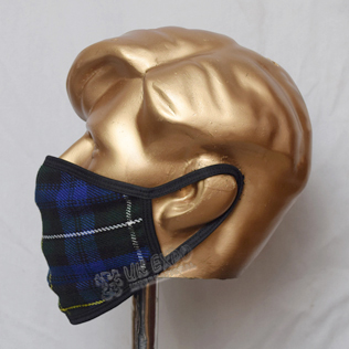 Campbell of Argyll Tartan Scottish Style Mask