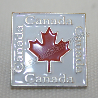 Canada Enamel Color Pin