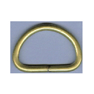 Cavalry Belt Hardware (Half -Moon, Brass)
